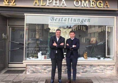 Ελληνικό Γραφείο Τελετών στο Μόναχο ALPHA OMEGA