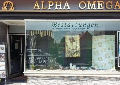 ALPHA OMEGA Γραφείο Τελετών στη Βαυαρία