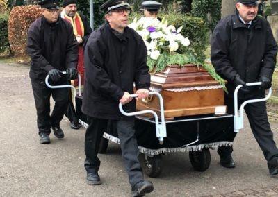 Κηδεία στη Γερμανία ALPHA OMEGA